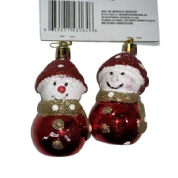 Brand New! Snowman Ornaments 5/25